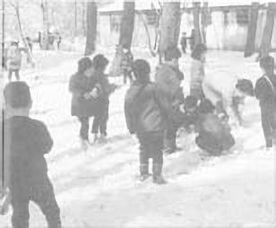 1964年 雪の日